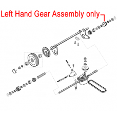 AL-KO Left Hand Gear Assembly - Lawnmower 544458