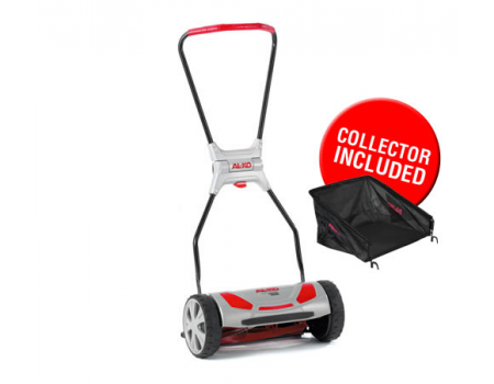 AL-KO 380HM Soft Touch Premium Hand Lawnmower - including Grass Box