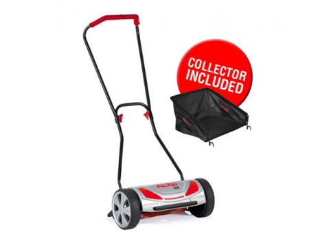 AL-KO 38HM Soft Touch Hand Lawnmower - including grass box