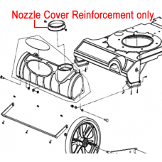 Billy Goat Bracket Nozzle Cover Reinforcement 840088
