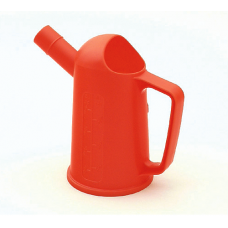 Orange Plastic 500ML Fuel Measuring Jug