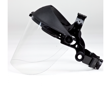 Brushcutter Clear Face Protection with Rubber Strap