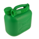Green Plastic Fuel Can - 5 Litre
