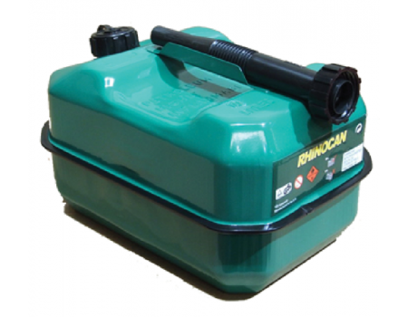 Green 10 Litre Steel Fuel Can