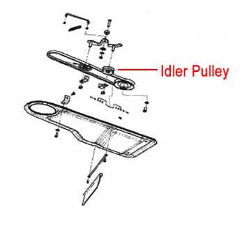 DR Replacement Idler Pulley (DR113071)