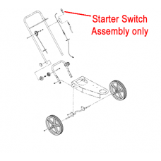 DR Replacement Starter Switch Assembly (113081)