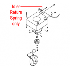DR Replacement Spring - Idler Return (DR120891)