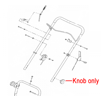 DR Replacement Knob (DR143661)