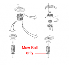 DR Replacement Plastic Mow-Ball (DR144101)