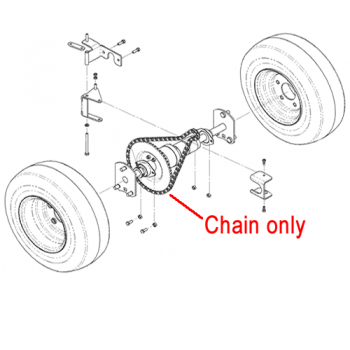 DR Replacement Chain c/w Master Link (DR150191)