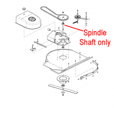 DR Replacement Spindle Shaft (DR160091)