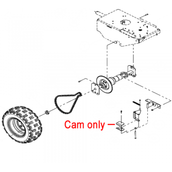 DR Replacement Cam (DR190581)
