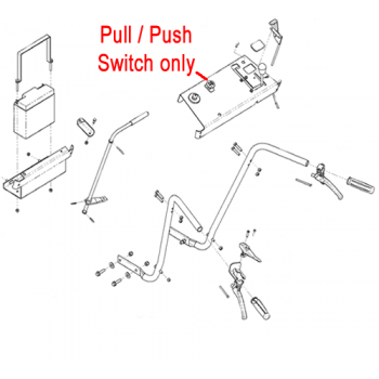 DR Replacement Switch - Pull/Push (DR191231)