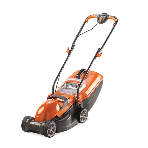 Flymo chevron 32v wheeled electric lawnmower for Lawn mower electric motor