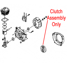Mitox Clutch Assembly, Shoes & Spring MI1E34F.10