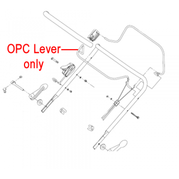 Gardencare LM56SP OPC Lever GC2203101