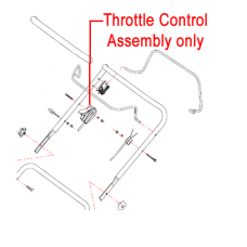 Gardencare Throttle Control Assembly GC2215300