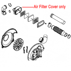 Mitox Air Filter Inside Cover 650B 65B Backpack Blower MIEB-650.5.2