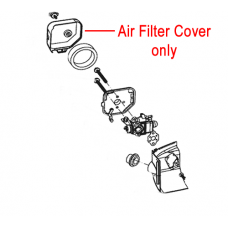 Mitox Hedgetrimmer Air Filter Cover  MIGJB25D.01.08.00-1