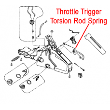 Gardencare Safety Lock Spring - Throttle Trigger GCYD38-3.03.00-8