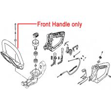 Hitachi Front Handle for CH62EA3 2010 HedgeTrimmer HI6688096