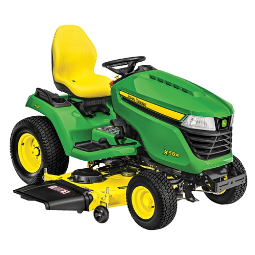 Side Picture Of Tractor : John deere side discharge lawn tractor less deck