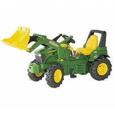 John Deere 7930 Toy Tractor & Front Loader with Pneumatic Tyres