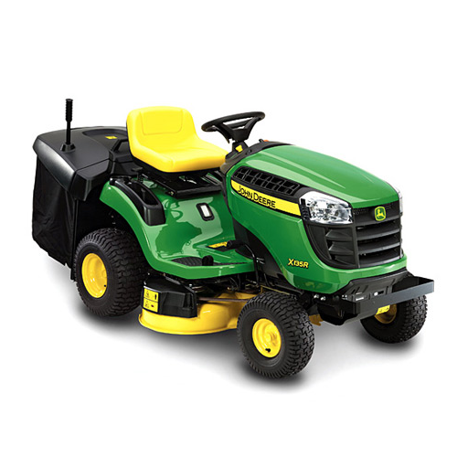 john deere x135r rear collection lawn tractor. Black Bedroom Furniture Sets. Home Design Ideas