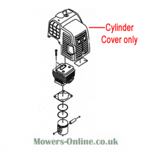 Mitox Replacement Hedge Trimmer Cylinder Cover (MI1E34F-E.5)