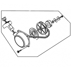 Mitox Replacement Blower/Vacuum Recoil Assembly (MI1E40FP-3Z.4)