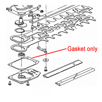 Mitox Replacement Hedge Trimmer Gasket (MIGJ330.2-17)