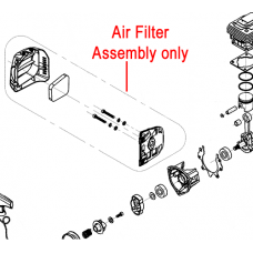 Mitox Air Filter Assembly TBC261D.01.08.00-00