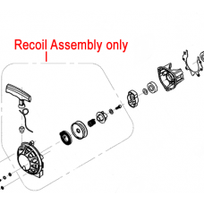 Mitox Recoil Starter Assembly TBC261D.01.12.00-00