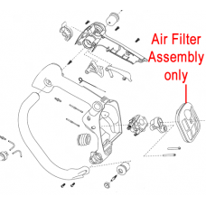 Mitox Chainsaw Air Filter Assembly MIYD36.01.08.00-00