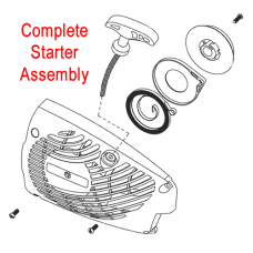 Mitox Chainsaw Recoil Starter Assembly MIYD36.02.00-00