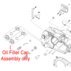 Mitox Chainsaw Oil Filler Cap Assembly MIYD36.03.02-00R