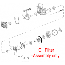 Mitox Chainsaw Oil Filter Assembly MIYD38-3.00.00-16