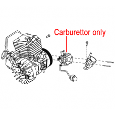 Mitox Chainsaw Carburettor MIYD38-3.01.06.00-00