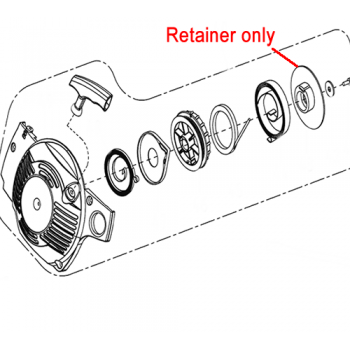 Mitox Replacement Retainer (MIYD38-5.12.00-6)