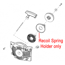 Mitox Chainsaw Recoil Spring Holder MIYD45.02.00-3