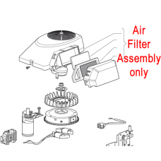 Mountfield Air Filter Assembly 7250 Series 118550319/0