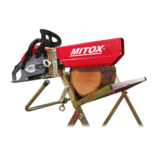 Mitox Saw Horse With Chain Saw Holder