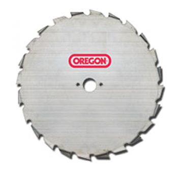 """9"""" Oregon 24 Tooth - 20mm Bore - 1.8mm Thick Brushcutter Blade"""