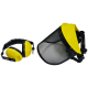 Ear & Face Protection Mesh Visor with Ear Defenders