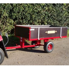 SCH 2 Wheel Timber Tipping Trailer GWTS10