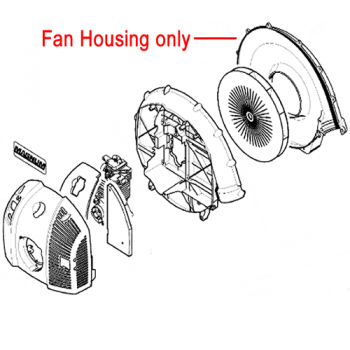Stihl Fan Housing Outer BR500 BR550 4282 701 0700