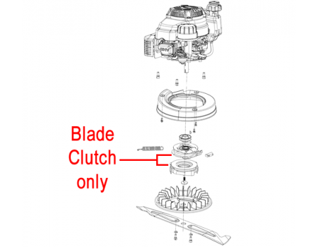 Weibang Legacy Blade Clutch Assembly BBC01
