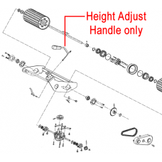 Weibang Legacy 48 56 Height Adjust Handle GM56A060101000/22